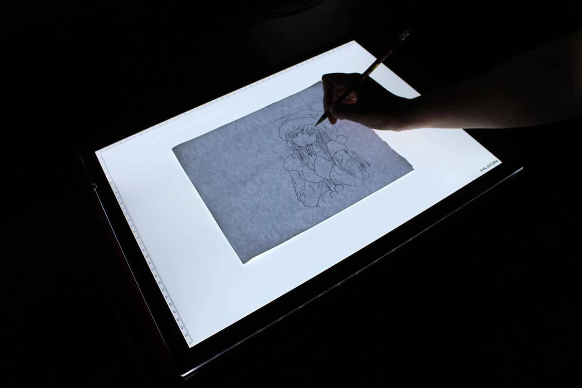 a2 led light pad tracing board huion. Black Bedroom Furniture Sets. Home Design Ideas