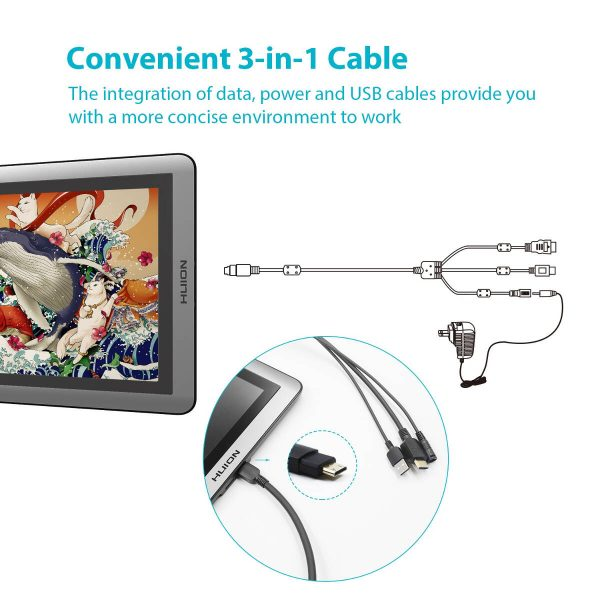 GT-156HD V2 3-in-1 cable