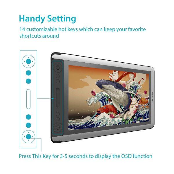 GT-156HD V2 handy settings
