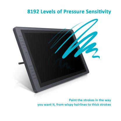 GT 221 - 8192 pen pressure levels