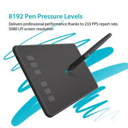 H640P - 8196 nivojev pritiska peresa