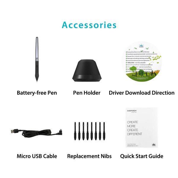 H640P - accessories