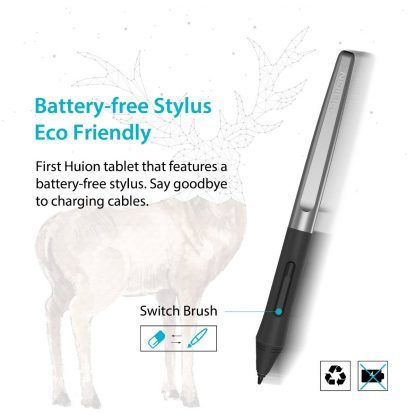 H640P - battery free pen stylus