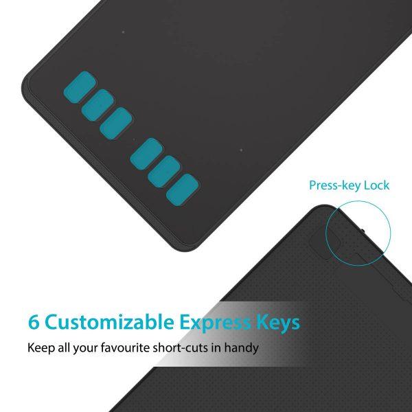 H640P - 6 customizable keys