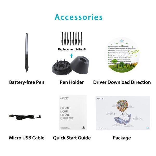 H950P - accessories