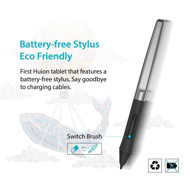 H950P - battery-free pen