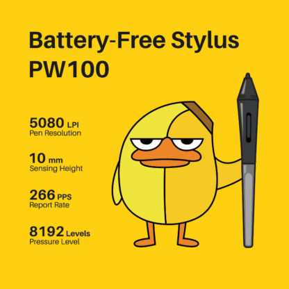 HS64 SE Battery Free Stylus