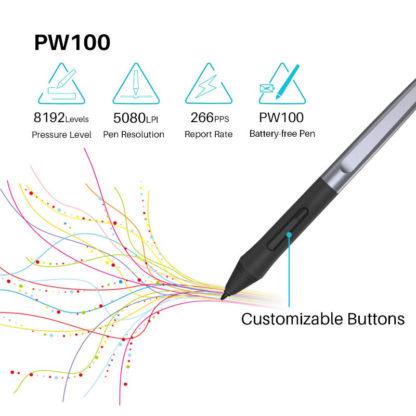 HS64 brezbaterijsko pero PW100