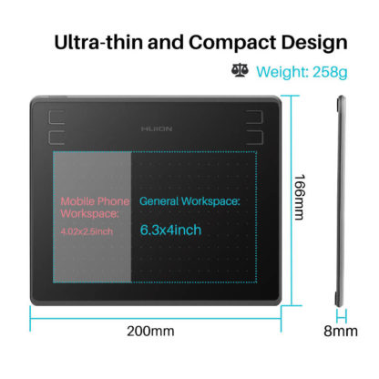 HS64 ultra thin and compact design