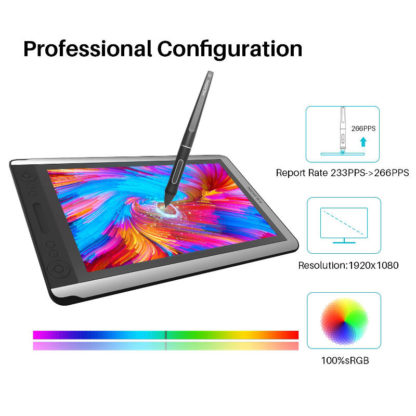 HUION KAMVAS 16 features