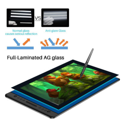 HUION KAMVAS PRO 16 Anti-glare glass