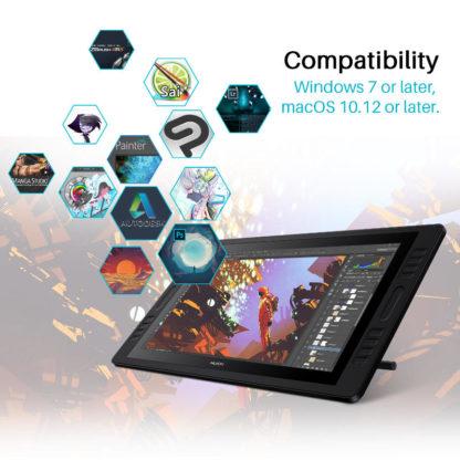 HUION KAMVAS Pro 20 (2019) kompatibilnost