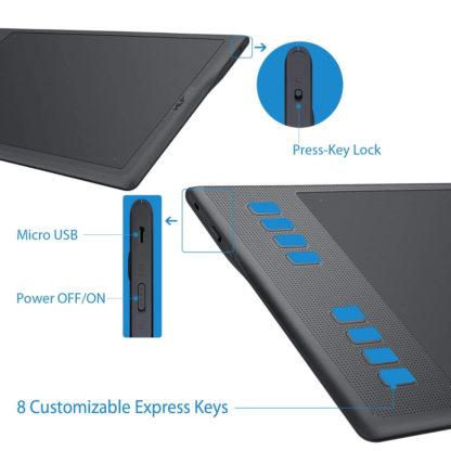 INSPIROY Q11K V2 switch and keys