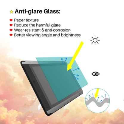 KAMVAS 16 anti-glare glass