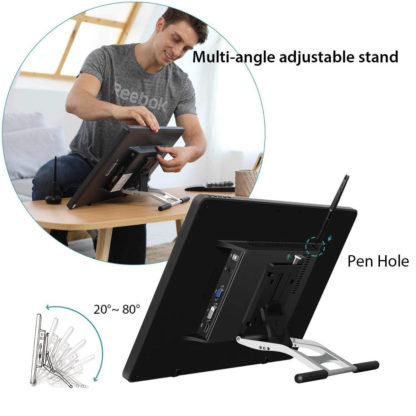 KAMVAS PRO 22 adjustable stand