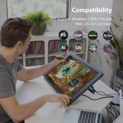 KAMVAS PRO 22 compatibility