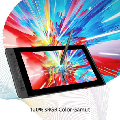 KAMVAS Pro 13 - 120% sRGB color gamut