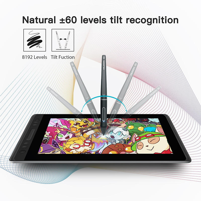 Graphics Tablets/boards & Pens Huion Kamvas Pro 13 Graphics Drawing Monitor Tilt Battery Free Pen-13.3 Inch 2019 Official Computers/tablets & Networking