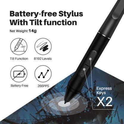 KAMVAS Pro 22 (2019) Battery-free stylus