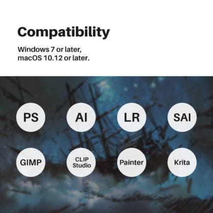 KAMVAS Pro 22 (2019) Compatibilty