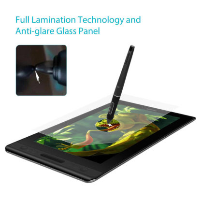 Kamvas Pro 12 - anti-glare glass