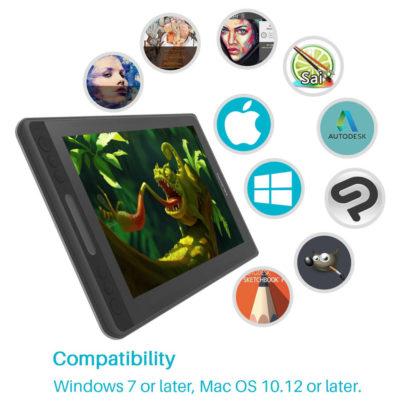 Kamvas Pro 12 - compatibility