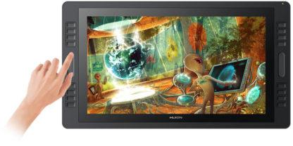 Kamvas Pro 20 touch-slide