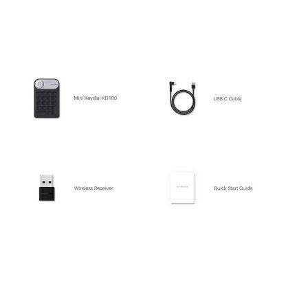 Mini Keydial KD100 - In the box