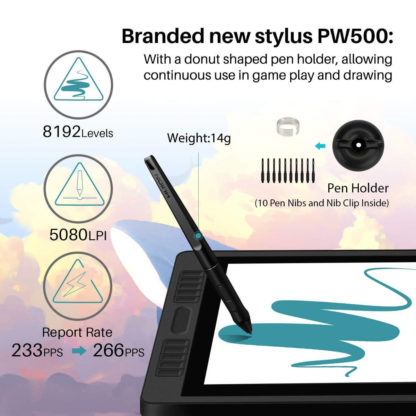 PW500 Battery-Free Stylus