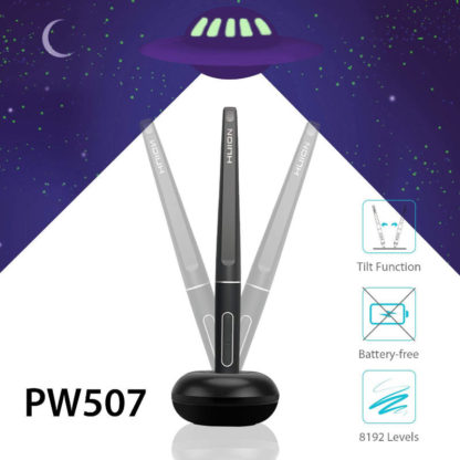 PW507 Battery-Free Stylus 8192 pen pressure and ±60 tilt levels