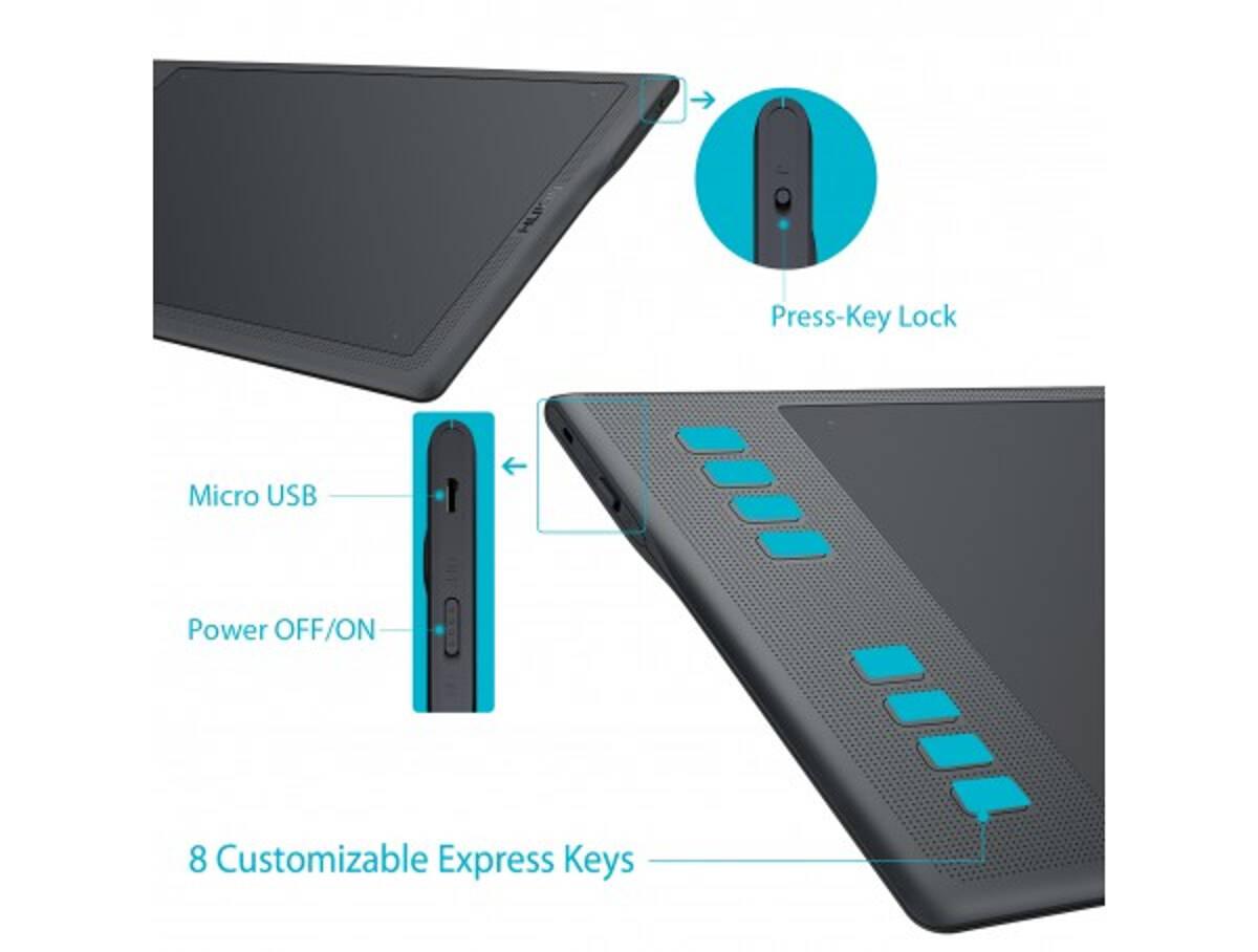 INSPIROY Q11K V2 Wireless Pen Tablet
