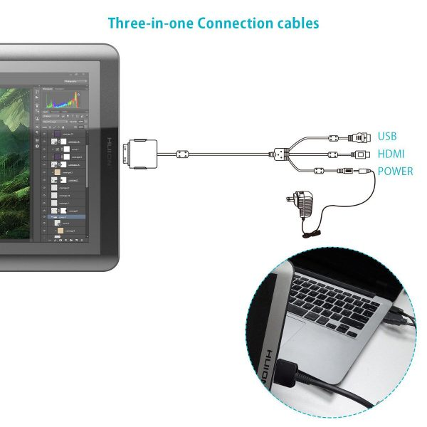 GT 156-HD - 3 in 1 cable