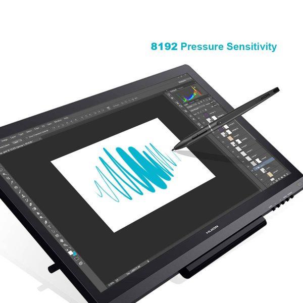 8192 pen pressure levels