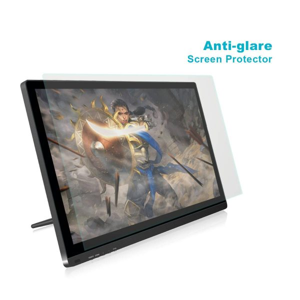 Anti glare screen protector