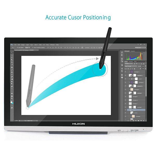 GT-220 V2 - accurate cursor position