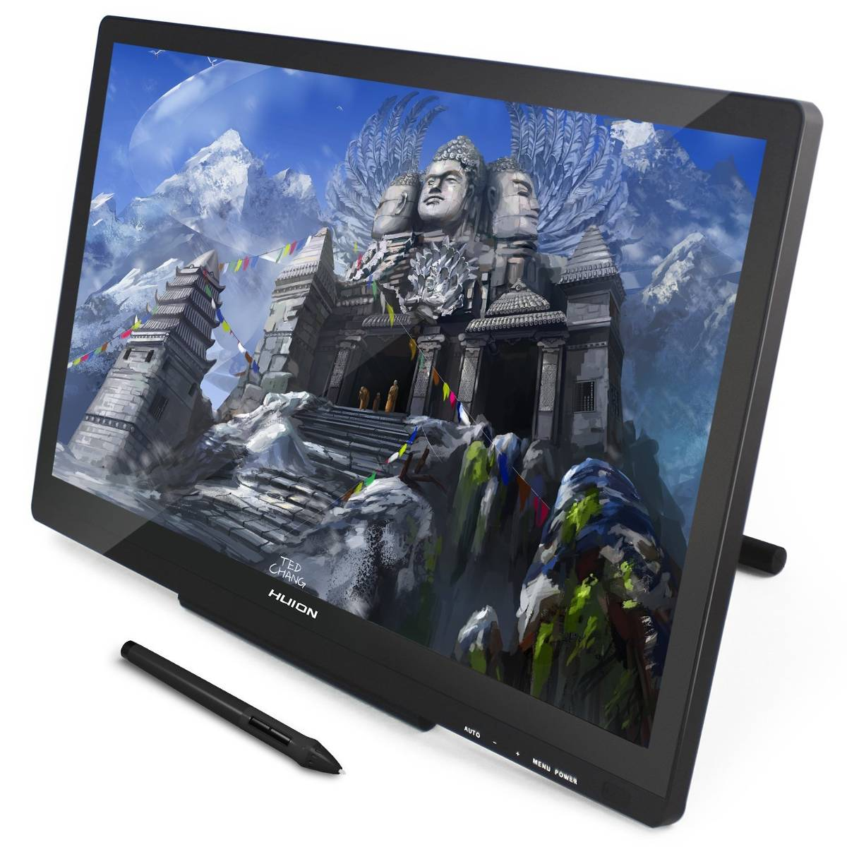 GT-220 V2 Pen Display (8192) Black | HUION