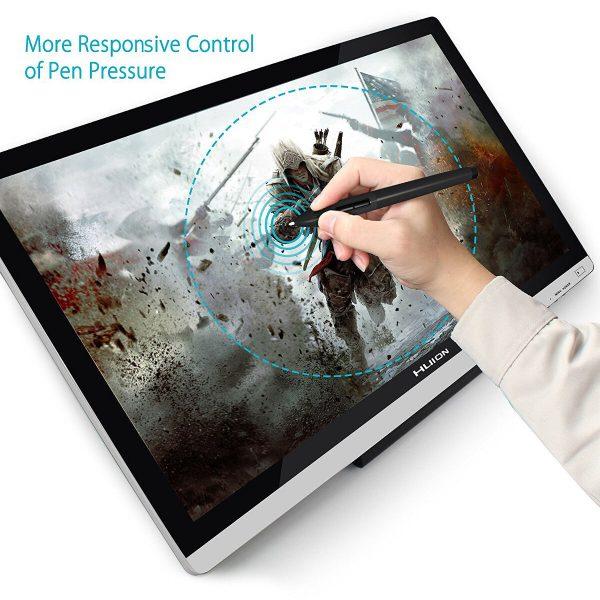 HUION GT-220 V2 - pen pressure responsive control