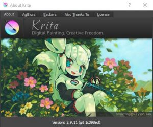 Krita - about