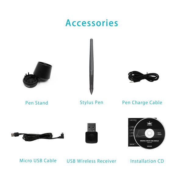 Q11K Accesories included