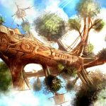 Tree ship, illustration Luis Peres